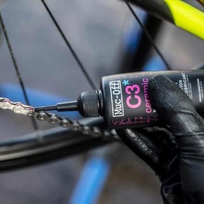 Muc Off Bicycle C3 Wet Weather Ceramic Lube - 120ml