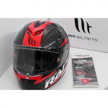 MT Helmets Rapide Pro Pinlock (Clear) (MT-V-14)